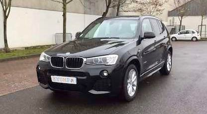 BMW X3 d'occasion