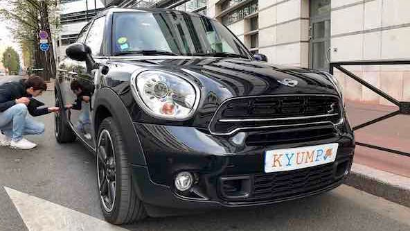 Inspection d'une Mini Countryman chez Kyump
